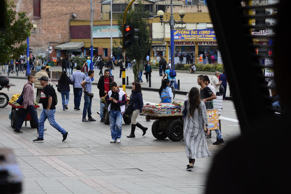 According to the research project, the Gini Coefficient shows high inequality in income distribution in Bogotá, close to 0.5. Photo: Unimedios